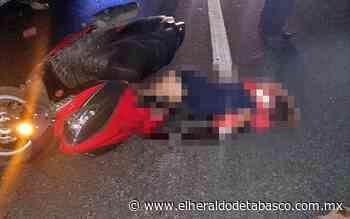 Mujer queda sin vida sobre la vía Huimanguillo-La Venta - El Heraldo de Tabasco