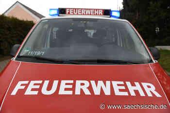 Brände in Radebeul und Coswig - Sächsische Zeitung
