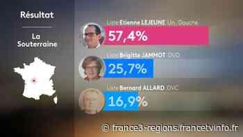 Municipales 2020 : les résultats du premier tour à La Souterraine - France 3 Régions