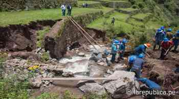 Cusco: Inician recuperación de muros incas de Pisac que colapsaron por crecida de río [VIDEO] - LaRepública.pe