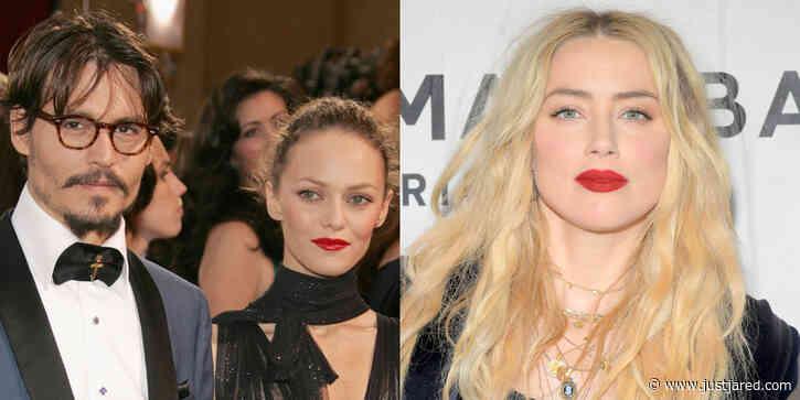 Johnny Depp's Ex Vanessa Paradis Defends Him Against Amber Heard's Domestic Violence Allegations