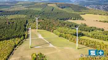 Windkraft für Netphen: Fünf Windräder am Hellerkopf geplant - Westfalenpost
