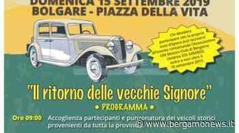 """""""Il ritorno delle vecchie signore"""", raduno d'auto d'epoca a Bolgare - BergamoNews - BergamoNews"""