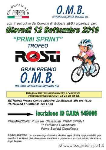 Ciclismo. I giovanissimi giovedì a Bolgare e poi un ricco fine settimana « Bergamo e Sport - Bergamo & Sport
