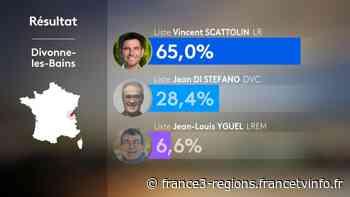 Municipales 1er tour à Divonne-les-Bains (Ain) : Vincent Scattolin élu au premier tour - France 3 Régions