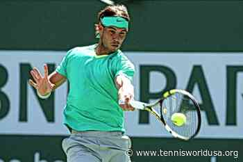ThrowbackTimes Indian Wells: Rafael Nadal battles past Tomas Berdych in the semis - Tennis World USA