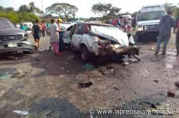 Gandola pierde el control y choca con vehículos en Sarare - La Prensa de Lara