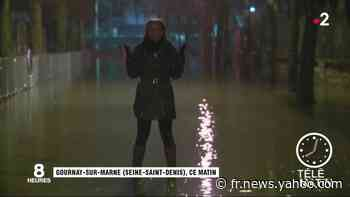 Seine-Saint-Denis : à Gournay-sur-Marne, la décrue ralentie par le froid et la neige - Yahoo Actualités
