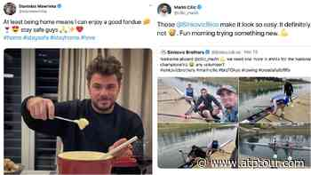 Stan Wawrinka's Fondue, Marin Cilic Rowing: Best Social Media Post Of The Week | ATP Tour | Tennis - ATP Tour