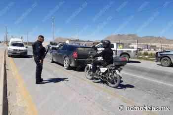 Colocan filtro en carretera a Casas Grandes; buscan armas y droga - Netnoticias