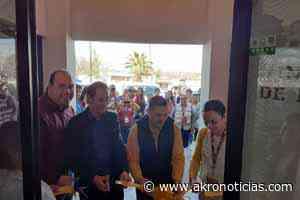 Inauguran en el municipio de Casas Grandes, las oficinas del Centro Integral de Desarrollo - Akro Noticias