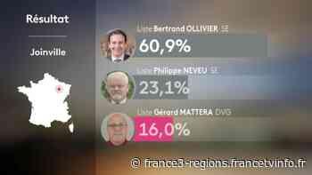 Municipales à Joinville: Bertrand Ollivier, le maire sortant réélu - France 3 Régions