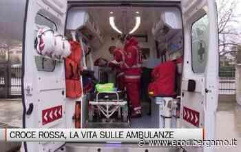 Croce Rossa, l'emergenza vista dalle ambulanze - Video Trescore Balneario - L'Eco di Bergamo