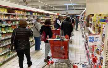 Biganos : Auchan pris d'assaut aujourd'hui - Sud Ouest