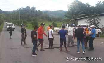 Residentes impiden el paso de extranjeros en Cañazas - Metro Libre