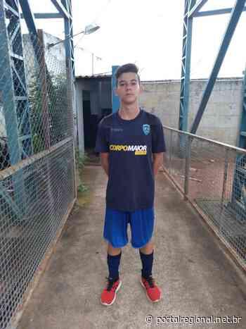 Kauã Modesto já está estudando e treinando na base de Osvaldo Cruz - Portal Regional Dracena