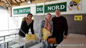La Friture du Nord à Avesnes-sur-Helpe fait plaisir en donnant des frites - La Voix du Nord
