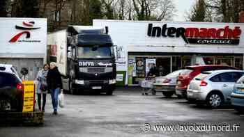 L'Intermarché d'Avesnes-sur-Helpe ouvre plus tôt pour éviter trop de monde dans les rayons - La Voix du Nord