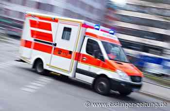 Unfall in Neckartailfingen: Motorradfahrer nach Sturz schwer verletzt - esslinger-zeitung.de
