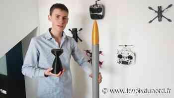 À Bondues, Basile, 17 ans, mène son mini-programme spatial - La Voix du Nord