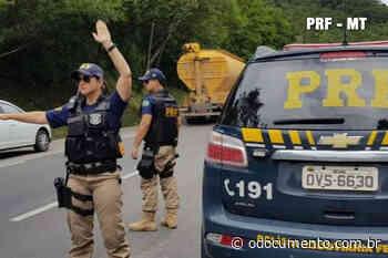 Policial16/03/2020 - 15:40 PRF realiza operação Fumaça Branca em Pontes e Lacerda-MT - O Documento