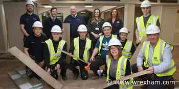 Popular community hub in Plas Madoc renovated with help from traineeship construction academy - Wrexham.com