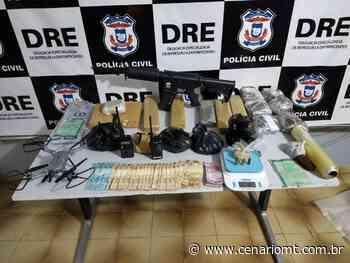 Traficantes do Parque Atalaia em Cuiabá são presos com porções de drogas e objetos de origem ilícita - CenárioMT