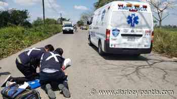 Mujer de 67 años resultó lesionada tras accidente de motocicleta en Cosamaloapan - Diario Eyipantla