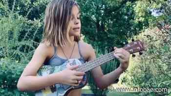 Tiene 10 años, canta covers y toca el ukelele: Muna, la talentosa hija de Agustina Cherri y Gastón Pauls - infobae