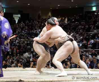 Ausnahmezustand beim Sumo-Turnier in Osaka - Sumikai