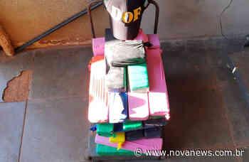 Fiat Palio com maconha é apreendido pelo DOF na região de Ivinhema - Nova News