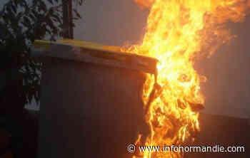 Poubelles incendiées et abribus dégradé à Bois-Guillaume : quatre suspects en garde à vue - InfoNormandie.com