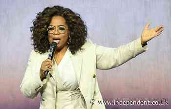 Oprah Winfrey denies far-right conspiracy theory she has been arrested for sex trafficking