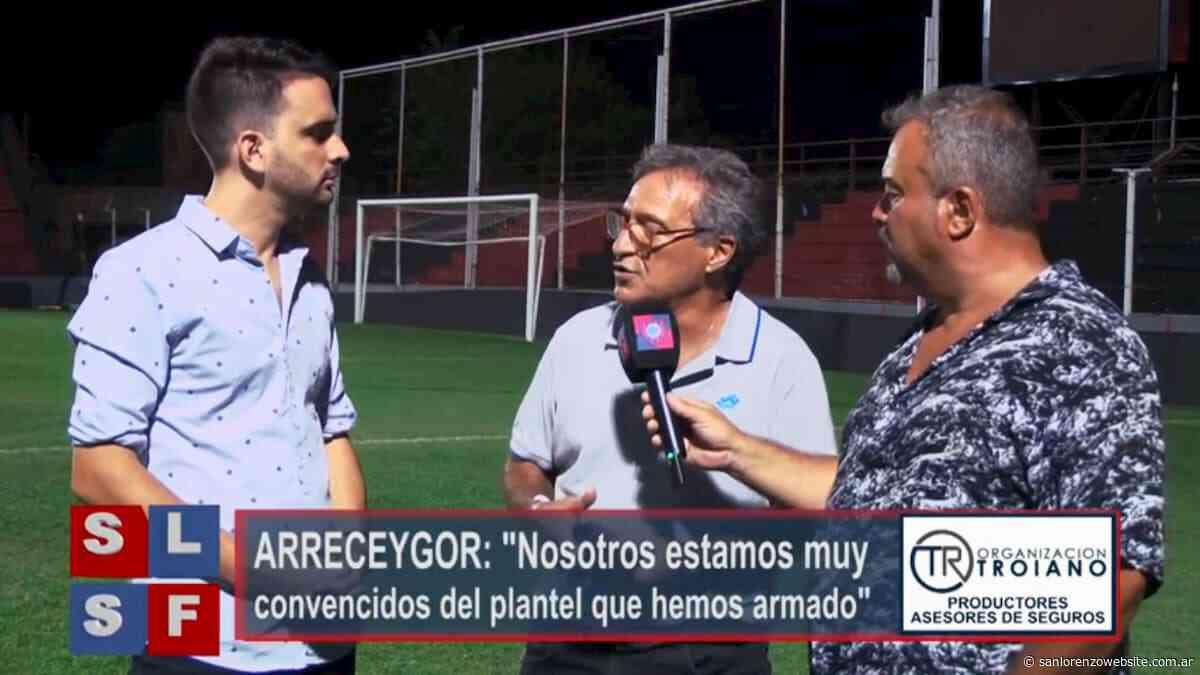 """Arreceygor: """"Le faltó tiempo a Diego Monarriz"""" - San Lorenzo Website"""