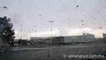 #Juarez | Alta posibilidad de lluvia para este miércoles en la ciudad - Adriana Ruiz