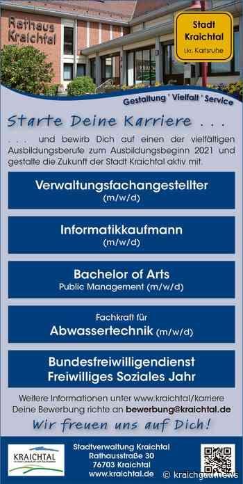 Stadt Kraichtal bietet Ausbildungsberufe und Praktika: Den Traumberuf finden - kraichgau.news