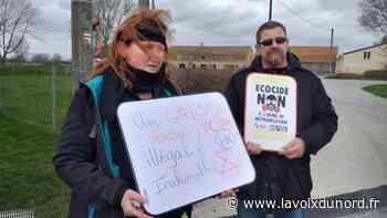 Wormhout: ils ont randonné pour dire non au projet de méthaniseur - La Voix du Nord