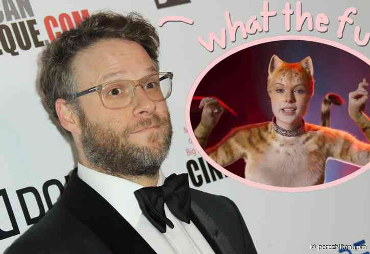 Seth Rogen Got High & Live-Tweeted The Movie Cats! MUST READ!