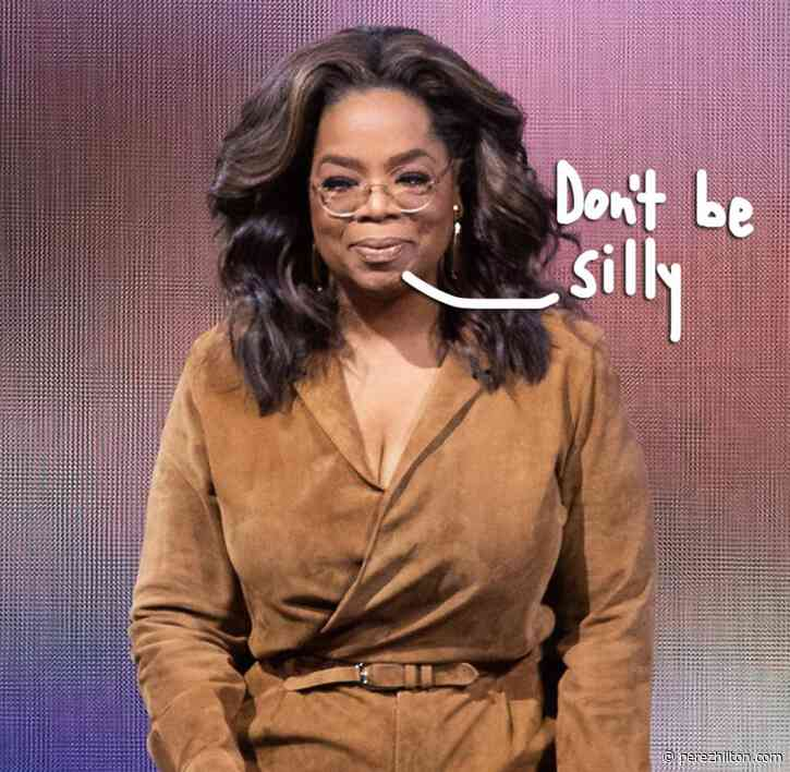 Oprah Winfrey Denies Being Arrested For Sex Trafficking After Dumb Coronavirus Hoax Conspiracy Goes Viral