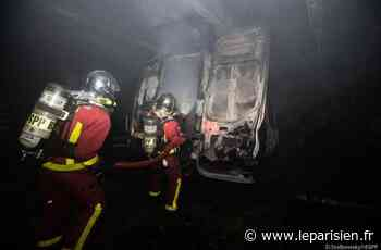 Les Lilas : un employé blessé dans l'incendie d'un garage - Le Parisien