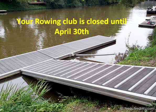 My rowing club is closed