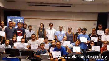 Noticias breves: INEFOP entregó certificados en Tranqueras y Minas de Corrales - Diario NORTE