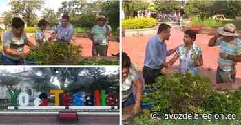 Celebran obras de adecuación del parque principal, en Tesalia - Noticias