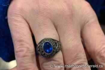 Clarenville High class ring, lost in Yellowknife 20 years ago, comes home from B.C. - TheChronicleHerald.ca