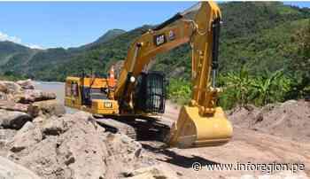 Aceleran trabajos de reforzamiento de defensa ribereña en el distrito Perené - INFOREGION