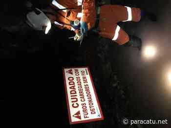 Vazante realiza primeira detonação wireless em mina subterrânea - Notícias - paracatu.net