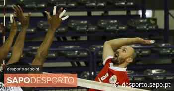 """Covid-19: Voleibolista Hugo Gaspar treina sozinho e é médico """"na linha da frente"""" - SAPO Desporto"""