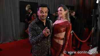 Luis Fonsi & Agueda Lopez - 2020 Grammy Awards Glambot - E! Online