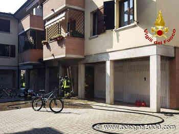 Incendio in un garage a Crespellano - Bologna 2000
