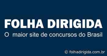 Notícias Concurso Prefeitura de Monte Santo de Minas MG - 2020 - diversos cargos - FOLHA DIRIGIDA